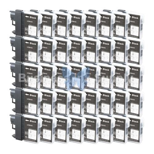 40 BLACK LC61 Ink for Brother MFC-J630W MFC-J615W MFC-J415W MFC-J410W MFC-J270W