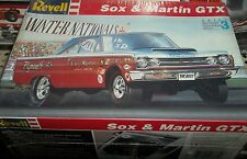 REVELL 1967 PLYMOUTH GTX HEMI SOX&MARTIN 1/25 FS Model Car Mountain KIT USA