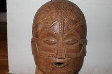 "Arts of Africa - Tabwa Mask - DRC - Congo - Zambia - Height 17"" x Wide 11"""