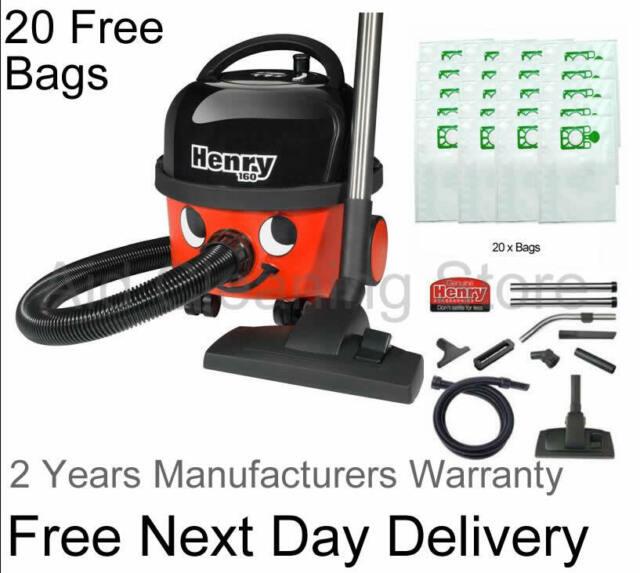 Henry Hoover Bags x10 Hetty Vacuum Cleaner New Hepa Numatic Hepaflo Genuine
