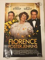 Florence Foster Jenkins Original Theater Movie Poster One Sheet Ds 27x40