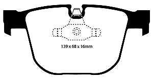 # DP41451R EBC Yellowstuff REAR Brake Pads fit BMW