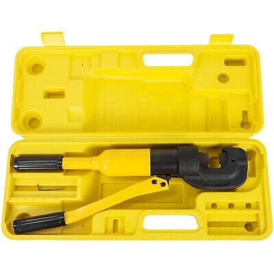 """SC-22 Hydraulic Rebar Cutter Steel Rod Cutting tool 22mm 7//8/"""" 13 Ton w//Case"""