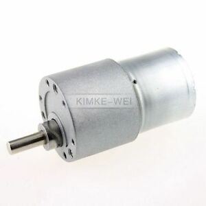 12V DC 8RPM High Torque Gear Box Electric Motor