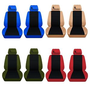 Image Is Loading Car Seat Covers 2017 Toyota Camry Front