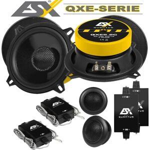 ESX QXE5.2C 13 cm Komponenten-Lautsprecher mit 180 Watt RMS: 80 Watt