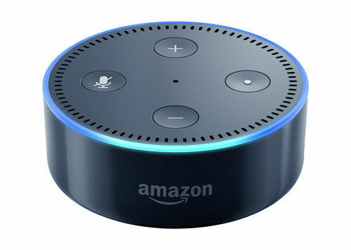 amazon echo dot 2nd generation smart assistant with. Black Bedroom Furniture Sets. Home Design Ideas