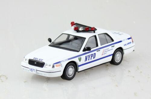 Ford Crown Victoria Polizei USA 2001 NYPD Blister 1:43 Altaya Modellauto