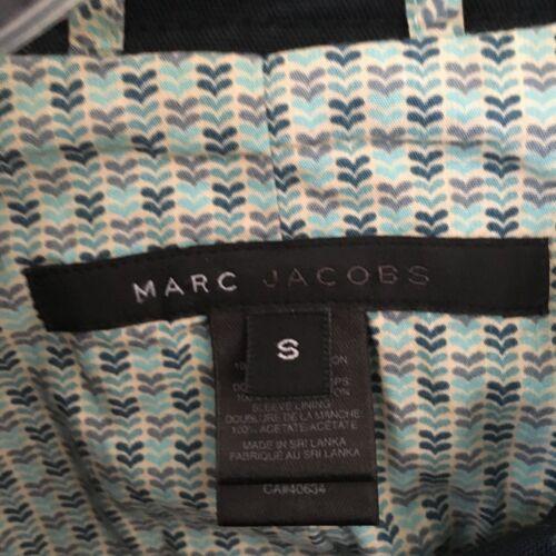 cotone Marc navy piccola doppio Taglia Jacobs blu Blu S in Giacca F6SwaxqYda