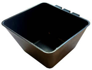 Cage-Cups-Square-1-2-Quart-38-oz-Hanging-Feed-amp-Water-Cage-Cups-Poultry-Chicken
