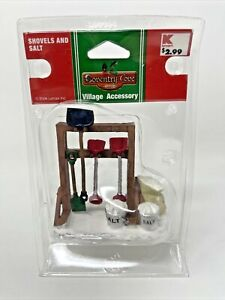 New Lemax Coventry Cove Village Accessories Shovels and Salt 2006 Retired