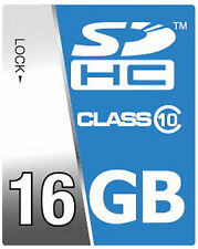 16GB SDHC Class 10 High Speed Speicherkarte für Panasonic HDC-SD 80 EGS HC-V100
