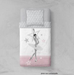 Parure Housse De Couette En Polyester 140x200 Cm Danseuse