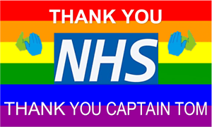 Thank You NHS Rainbow Flags /& Bunting Banners
