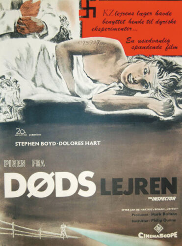 Lisa Stephen Boyd Dolores Hart movie poster print