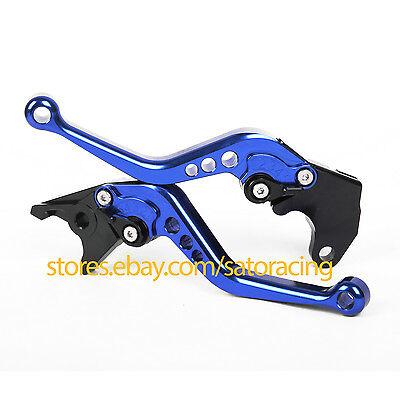 CNC Short Adjustable Brake Clutch Levers Set For Yamaha YZF-R15 2012 2013 2014
