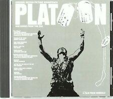 Platoon (1987) Doors, Jefferson Airplane, Percy Sledge.. [CD]