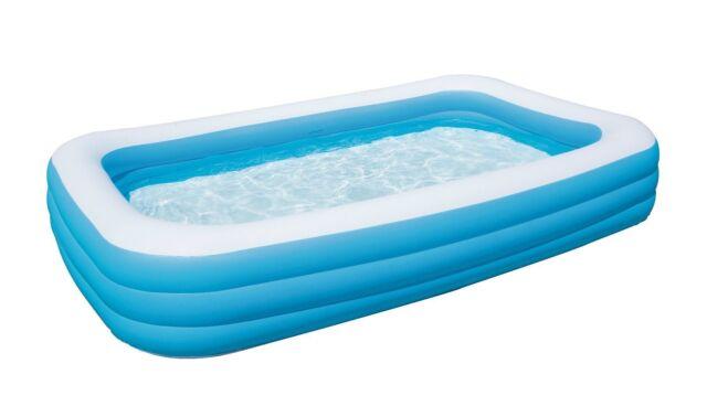 Bestway piscina fuoriterra gonfiabile 305x183x56cm per bambini gioco 54009b