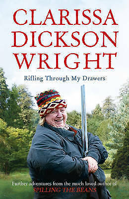 1 of 1 - Rifling Through My Drawers, By Dickson Wright, Clarissa,in Used but Acceptable c
