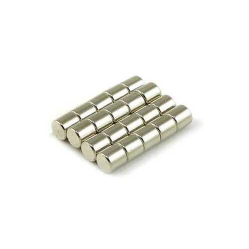 Industrial Neodymium Rare Earth Magnets N35 4x4mm Cylinder (5/32 x 5/32)