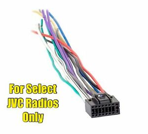 jvc kd r740bt kd r80bt kd r820bt kd r840bt kd r850bt kd r950bt wire rh ebay com Simple of a JVC Car Radio Wiring JVC Head Unit Wiring Diagram