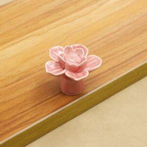 Image Is Loading Drawer With Lotus Flower Furniture Hardware Handles