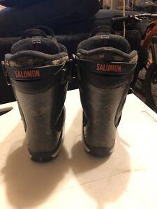 Image is loading Salomon-Hi-Fi-Snowboard-Boot-Wide-Men-039- 56e766314544