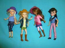 McDonald's Happy Meal Toys Liv Dolls set of 4 2011 Spinmaster