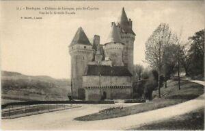 CPA Chateau de Laroque - pres Saint-Cyprien - Vue de la Grande Facade (1081694)