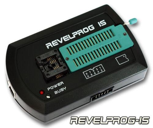 REVELPROG-IS SOIC-8 CLIP ICSP FLASH SPI BIOS PROGRAMMER + SOIC-8 200mil
