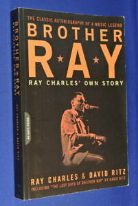 BROTHER-RAY-Ray-Charles-RAY-CHARLES-039-OWN-STORY-Book-Blues-Music-Piano