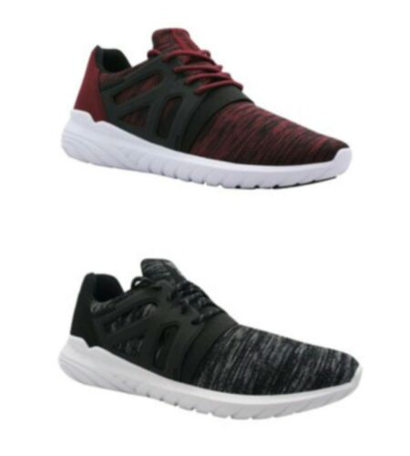 Avia Men/'s Black or Red Lace-Up Caged Athletic Running Sneakers Shoes 7-13