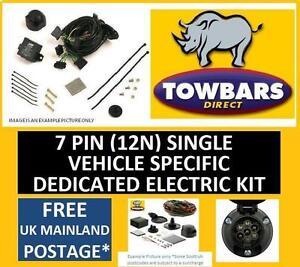 towbar wiring 7 pin kit for ford galaxy mk3 2006to2015 vehicle rh ebay co uk