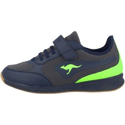 Intellektuell Kangaroos Sprint Ev Sneaker Kinder Schuhe Freizeit Turnschuhe Navy 18400-4054 Um Jeden Preis