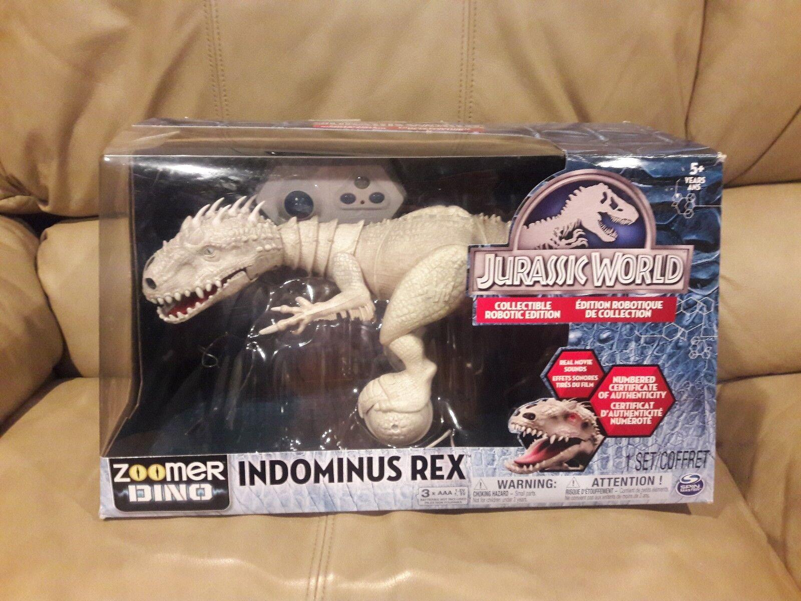 Jurassic park welt fernbedienung indominus rex zoomer dino spin master umzingelt