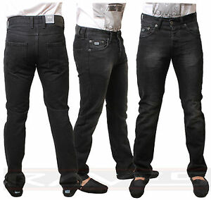 Men-039-s-Selvedge-Premium-Designer-Denim-Jeans-Black-Slim-Fit-Emporio-Seven-KNIGHT