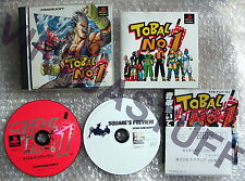 Tobal No.1, Sony, Playstation, NTSC, JAP, CD Preview Edition,very good condition