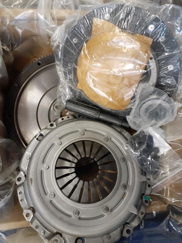 VW Caravelle T5 1.9 TDi (AXB) Solid Flywheel+ Clutch Kit