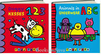 Doggy Kisses 123 & Animals In Underwear Abc Todd Parr 2 Board Books