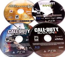 LOT OF (4) PS3 PLAYSTATION 3 CALL OF DUTY COD BLACK OPS GAMES DISC ONLY