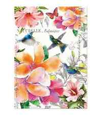 PARADISE Cotton Kitchen Towel By Michel Design Works   Flowers, Hummingbirds