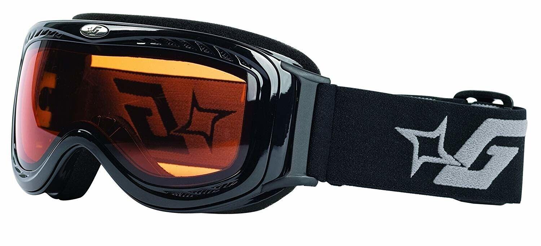 Gordini Virve Ski Snowboard Anti-Fog Goggles, with 2 Interchangeable Lenses