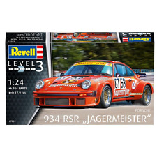 "Revell 1:24 Porsche 934 RSR ""Jägermeister"" Model Car Kit 073031"
