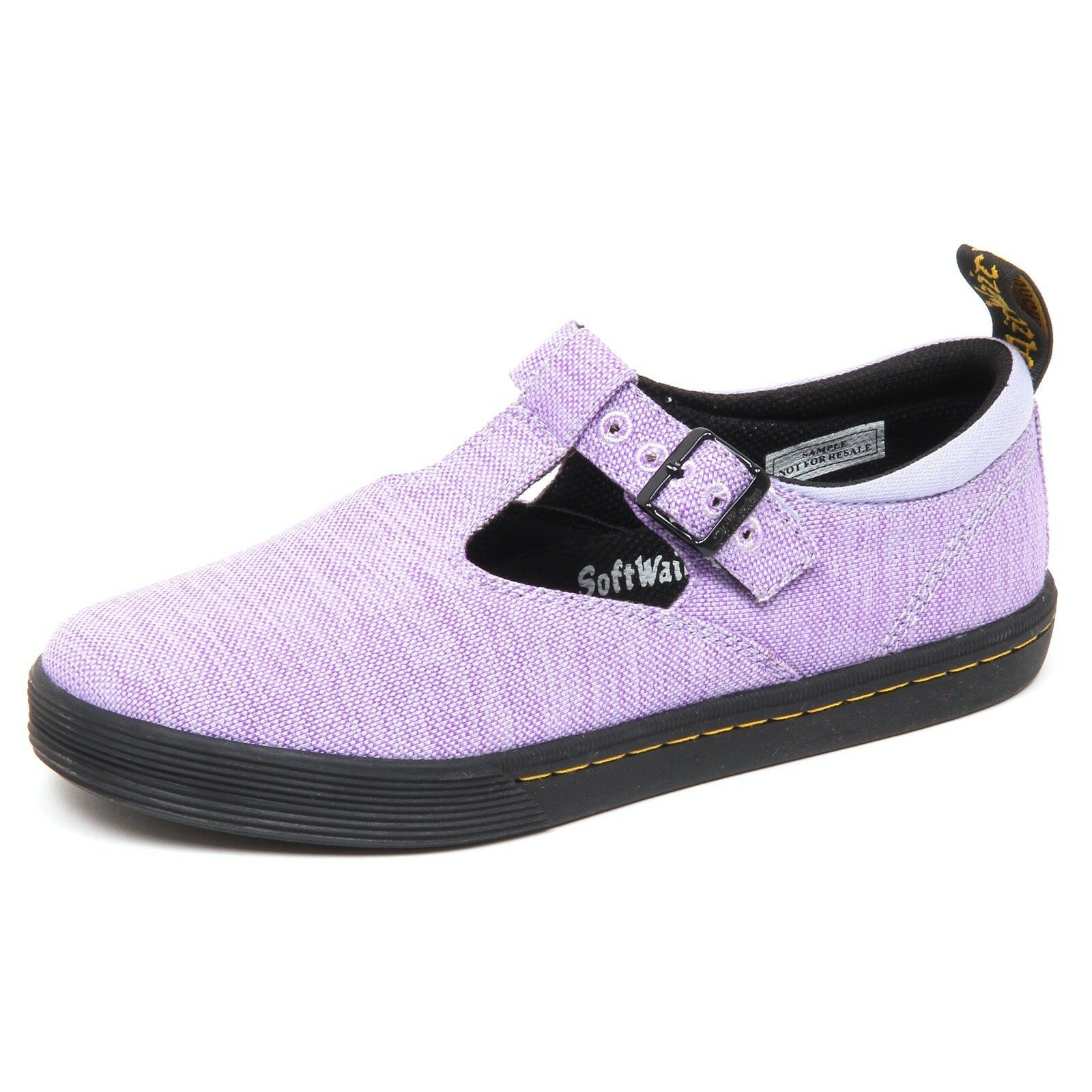 D7916 (SAMPLE NOT FOR SALE WITHOUT BOX) scarpa donna canvas DR. MARTENS shoe w