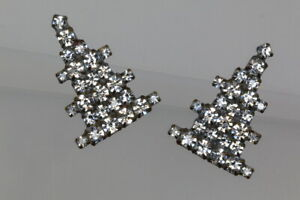 Very-Nice-Handcrafted-Strasknopf-duo-Tannenbaumchen-Probably-Um-1980-90