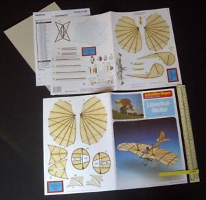 Lilienthal-Gleiter-Glider-1980s-90s-JF-Schreiber-Germany-Cut-Out-Card-Kit