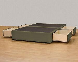 Image is loading Designer-Storage-Bed-A-Beutiful-Platform-Bed-with- & Designer Storage Bed - A Beutiful Platform Bed with hidden Drawers ...