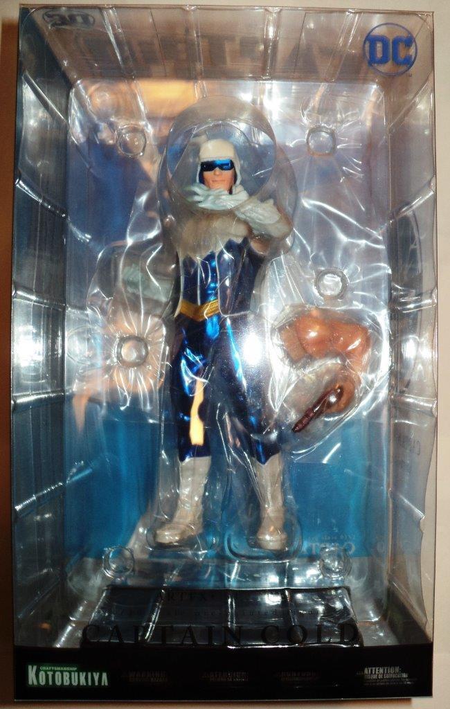 DC Comics Statue Kotobukiya - ArtFX+ Captain Cold 1 10 Statue MIMB