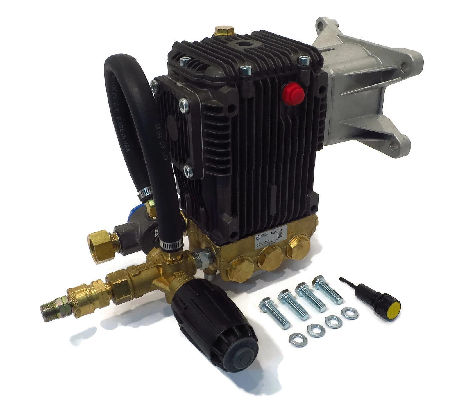 3700 PSI presión de alimentación Rkv bomba de agua Lavado Bomba & VRT3 Devilbiss ZR3700-1 ZR3700 ZR3200