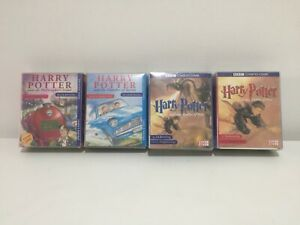 Harry-Potter-Audio-Book-Cassette-Tape-Bundle-Philosophers-Chamber-Goblet